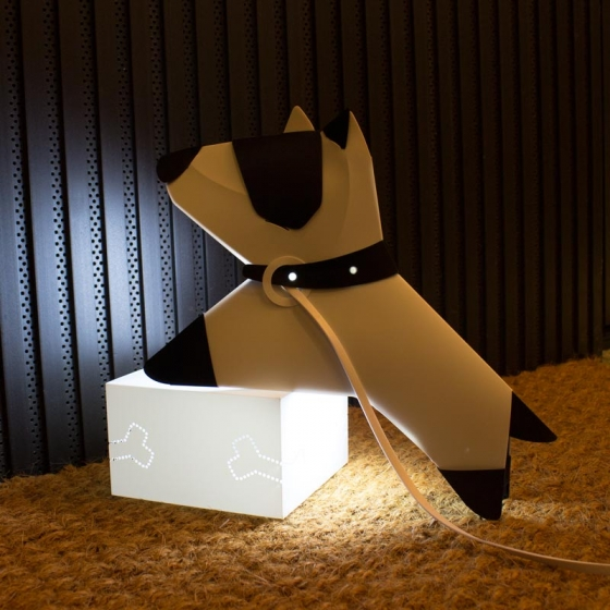 Nosy - A night lamp that wants to wonder around 1