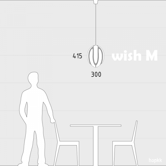 WISH M - Pendant Light - by hopkk 4